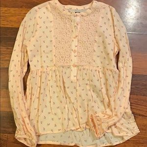 BRAND NEW! The Children's Place floral shirt